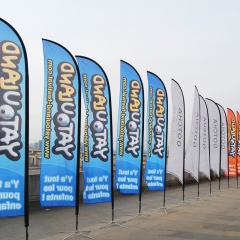 custom beach flags